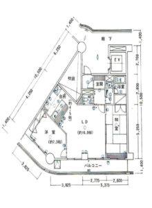 間取 洋室約21.79坪(間取)