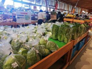 新鮮なお野菜が手に入る道の駅までは、車で約5分ほど。(周辺)