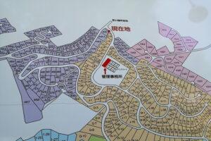別荘地管理棟位置(地図)
