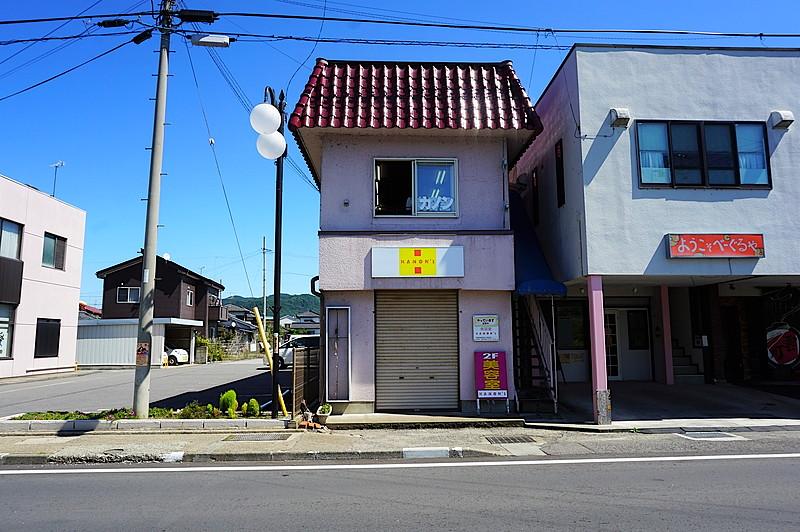 臼田地区 繁華街一角のエリア
