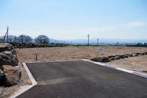 5区画方向 平尾山、八ヶ岳が見えます(外観)