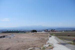 2区画から3区画方向、蓼科山から八ヶ岳連峰を見渡せます(周辺)